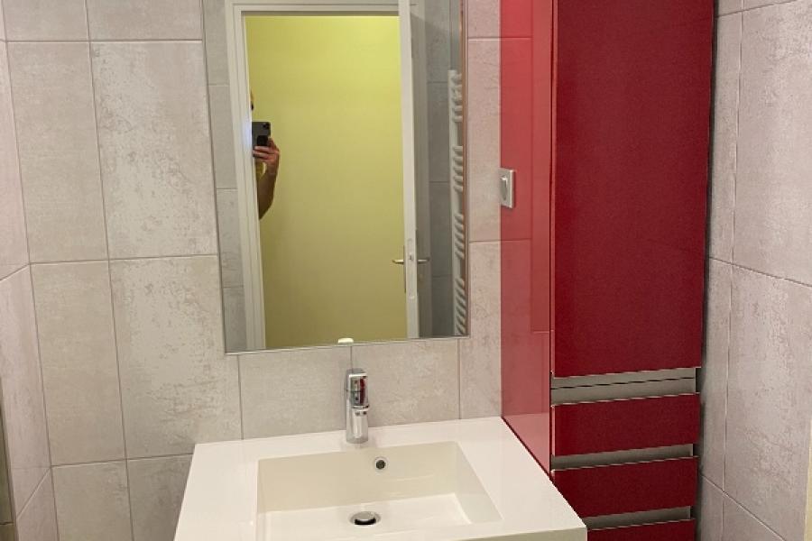 Transformation d'une salle de bain en salle de douche à DEAUVILLE 14800
